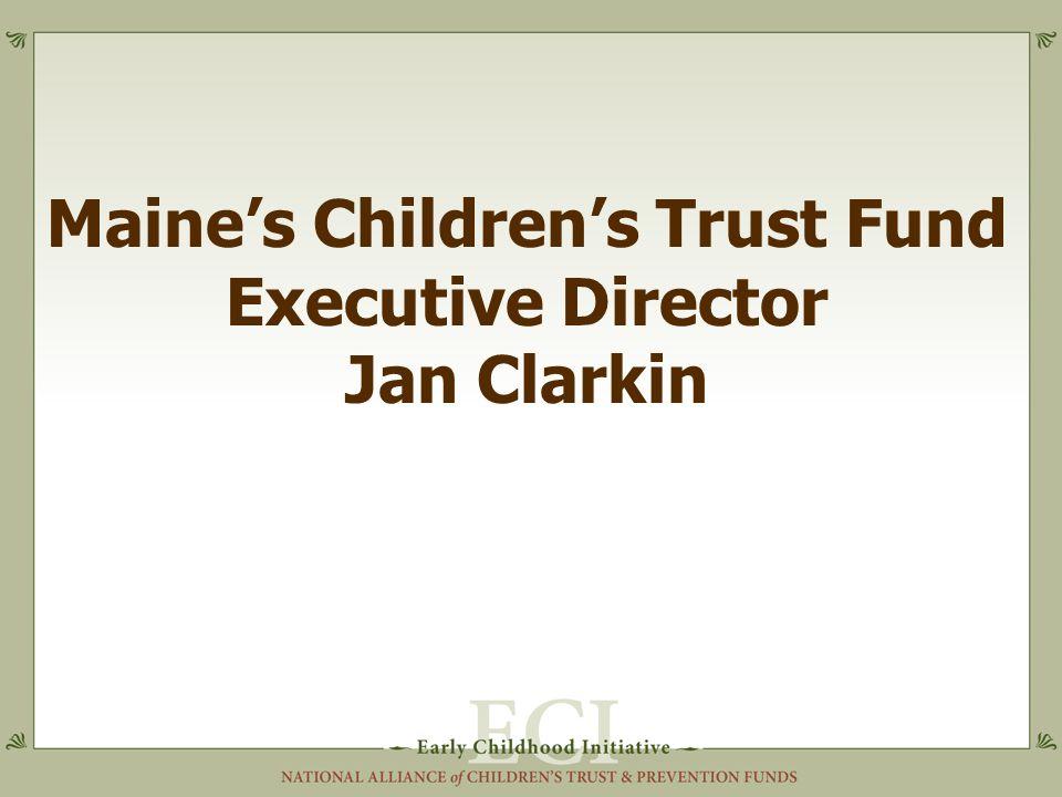 Maine's Children's Trust Fund Executive Director Jan Clarkin