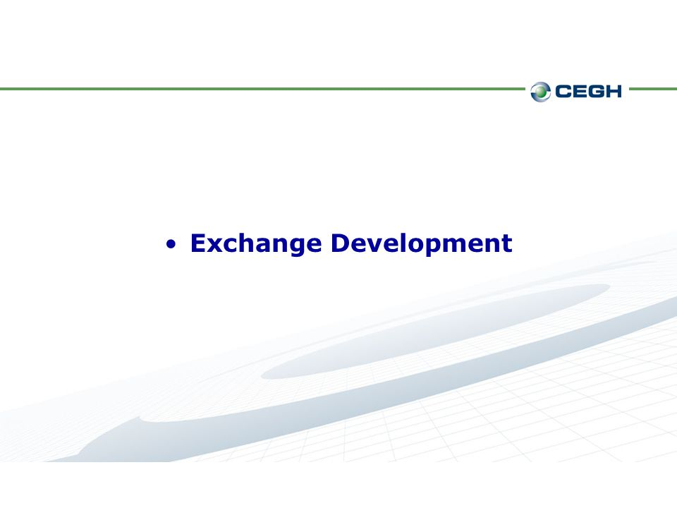 Exchange Development