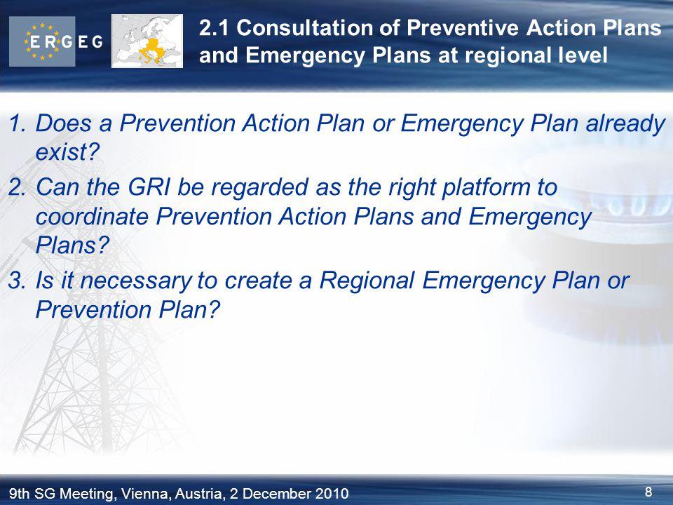 9 9th SG Meeting, Vienna, Austria, 2 December 2010 2.2 Fulfilment of infrastructure standard on regional level (Article 6.3) Art.
