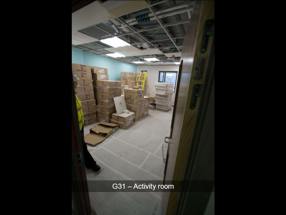 G31 – Activity room