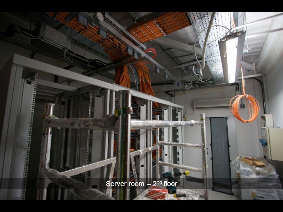 Server room – 2 nd floor