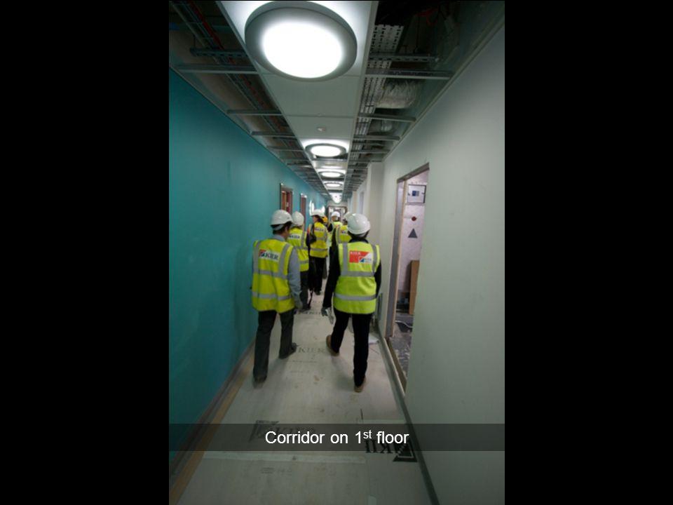Corridor on 1 st floor