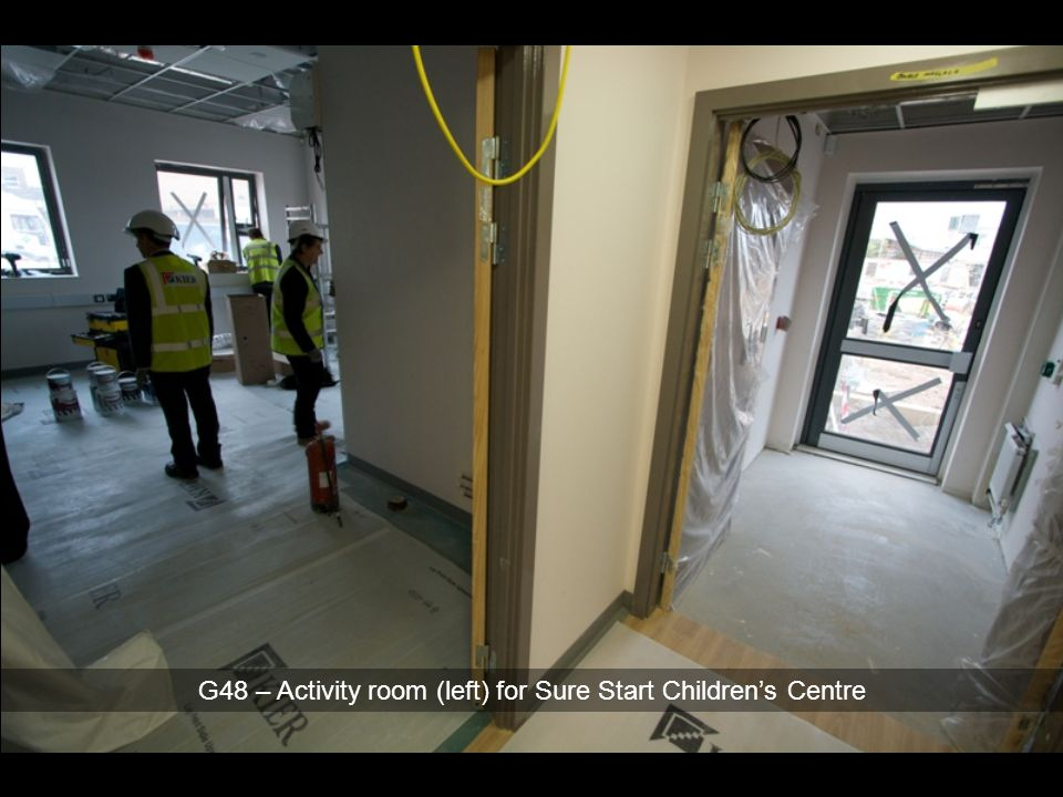G48 – Activity room (left) for Sure Start Children's Centre
