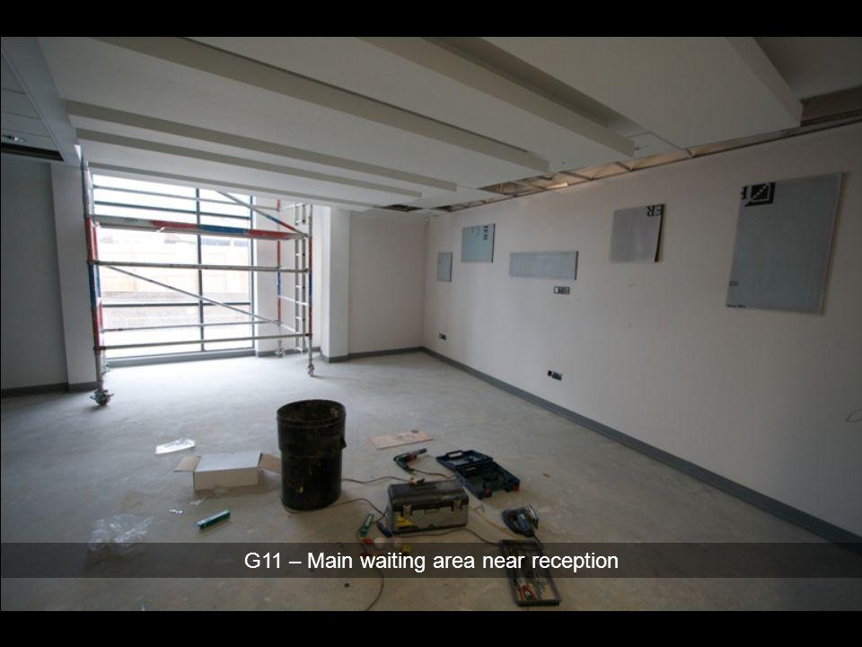 G11 – Main waiting area near reception