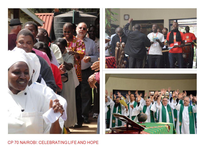 CP 70 NAIROBI: CELEBRATING LIFE AND HOPE
