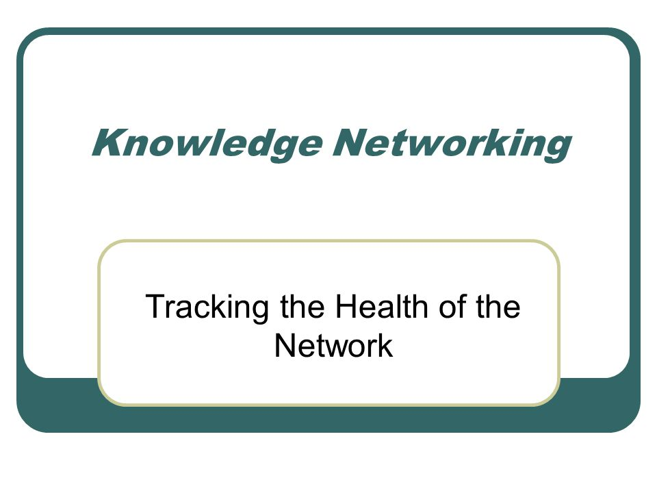 ENRAP Knowledge Network Study2 Topics to Cover Networking Benefits of networks How we analyze networks Who uses network analysis.