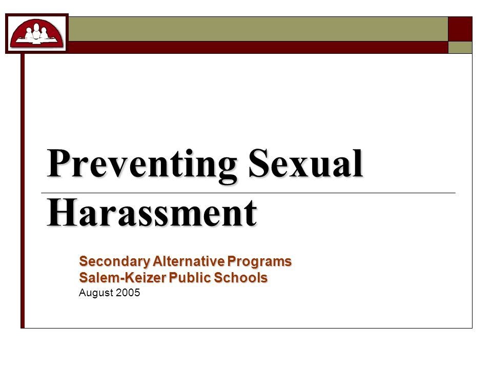 Why is it important to report sexual harassment.