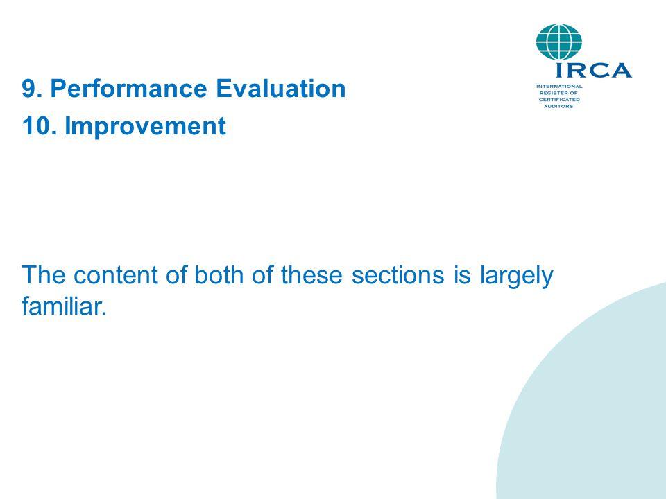 9. Performance Evaluation 10.