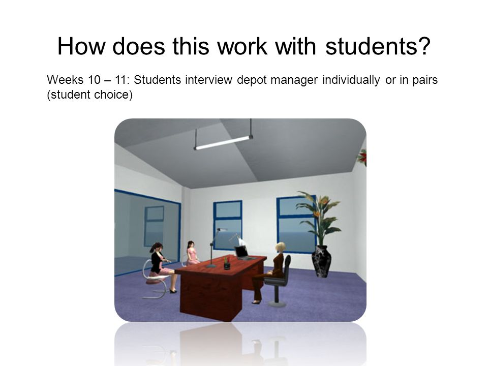 How does this work with students.