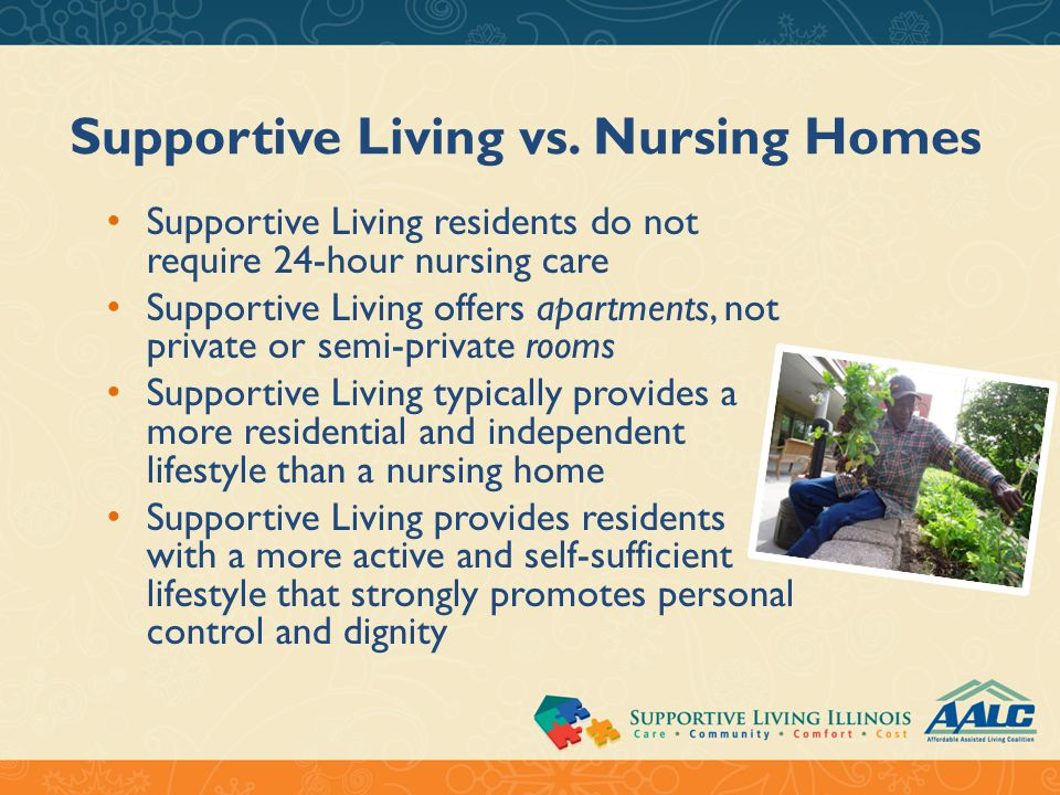Supportive Living vs.