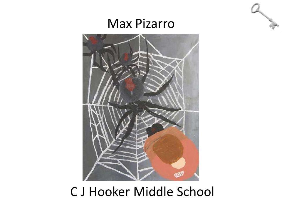 Max Pizarro C J Hooker Middle School