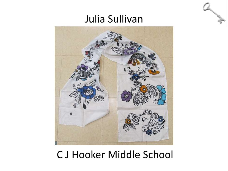 Julia Sullivan C J Hooker Middle School