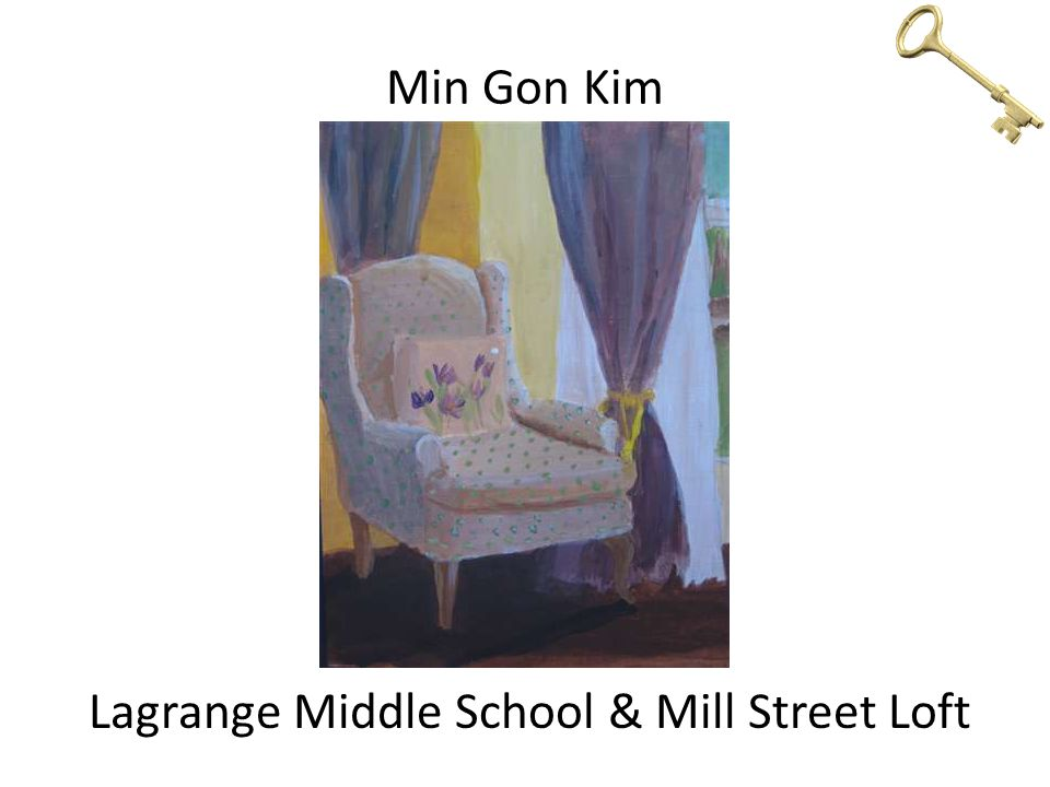 Min Gon Kim Lagrange Middle School & Mill Street Loft