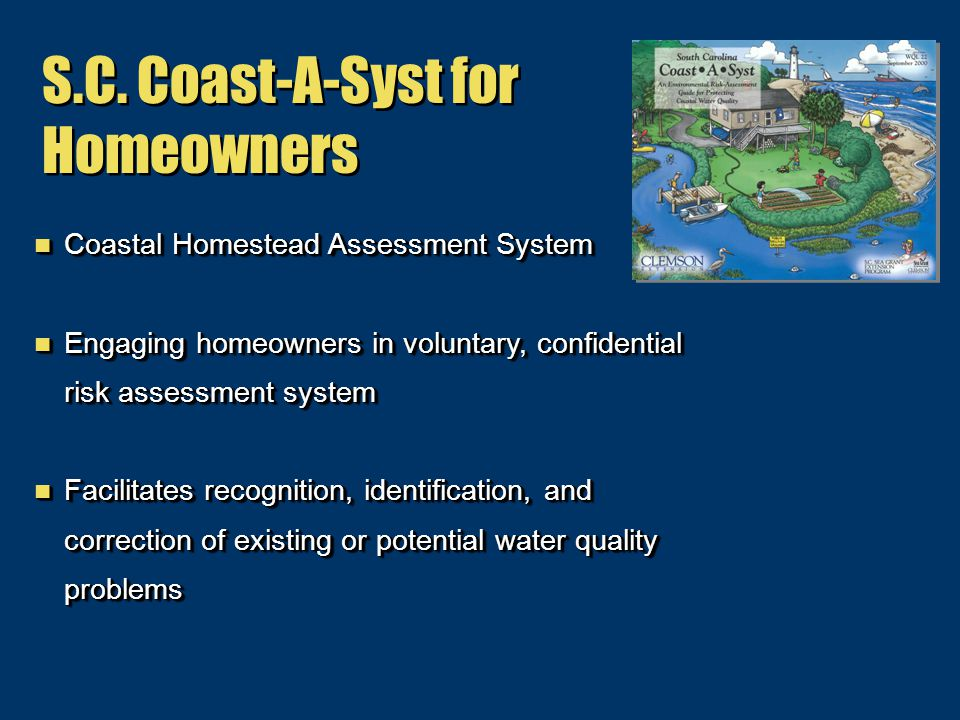 S.C. Coast-A-Syst for Homeowners S.C.