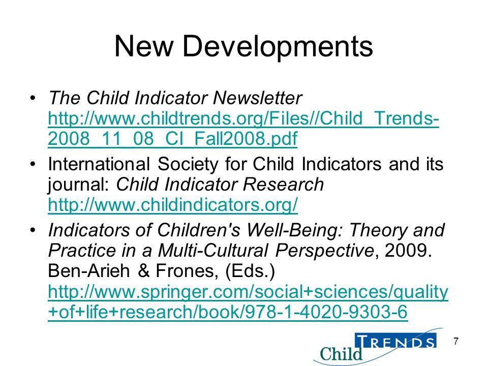 8 Research in the Service of America's Children www.childtrends.org www.childtrendsdatabank.org