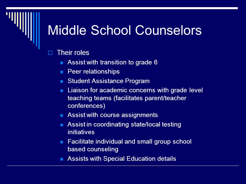 Coordinator of Academic Services Mrs.