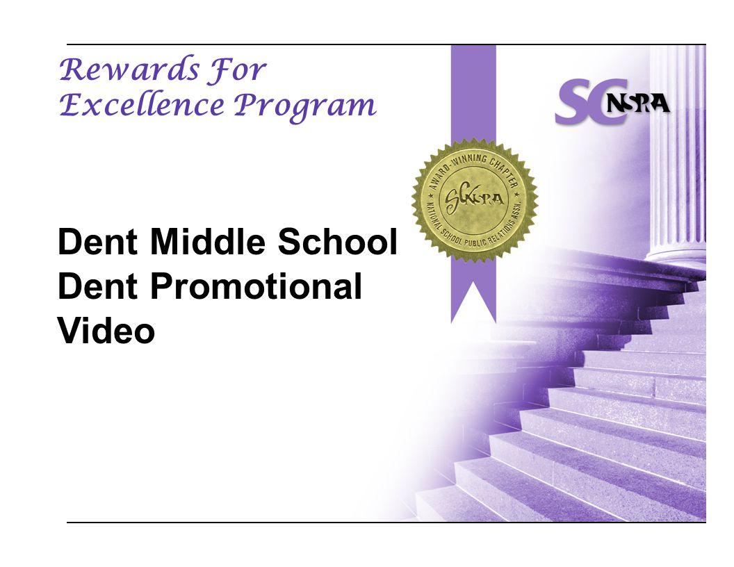 Rewards For Excellence Program Dent Middle School Dent Promotional Video