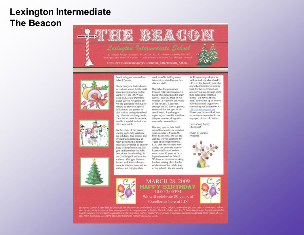 Lexington Intermediate The Beacon