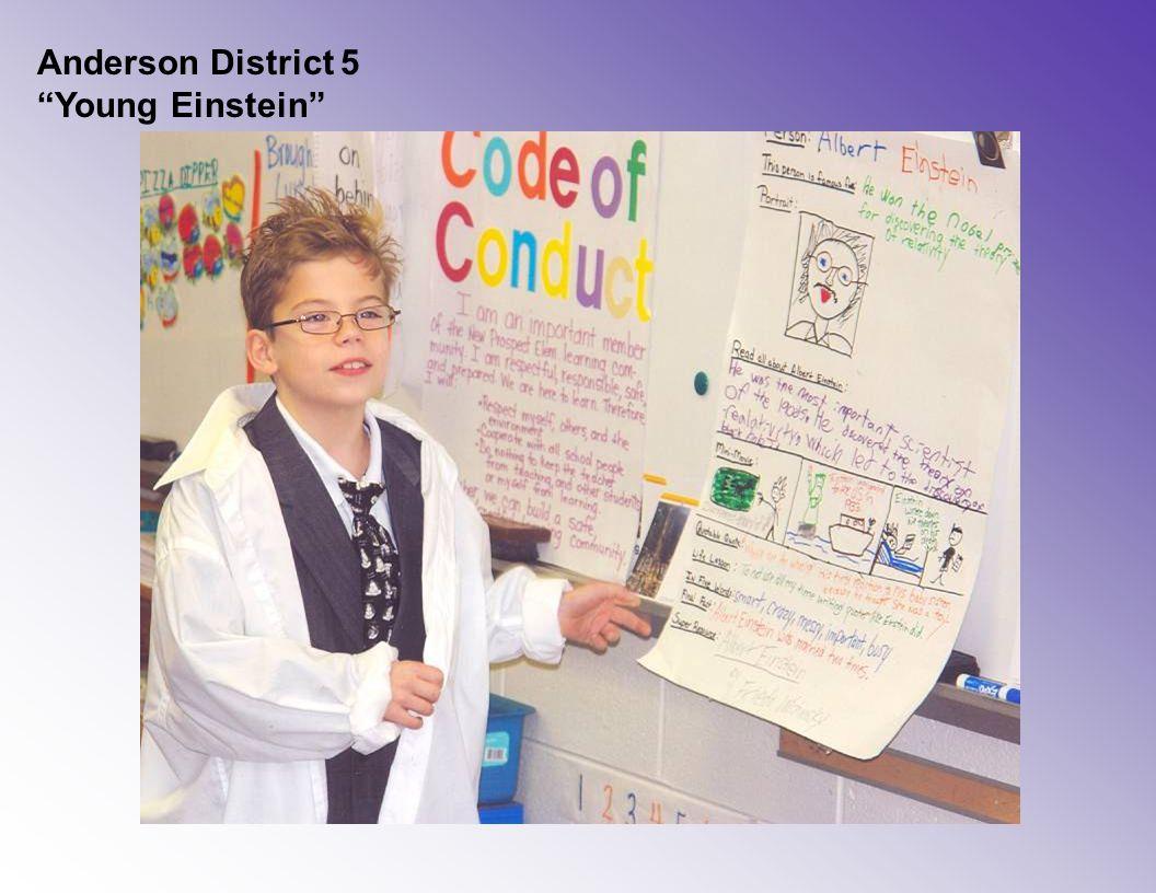 """Anderson District 5 """"Young Einstein"""""""