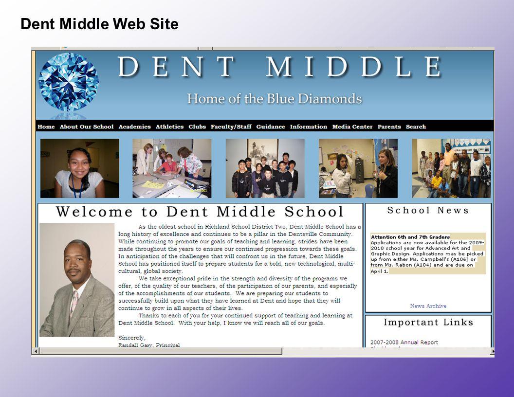 Dent Middle Web Site
