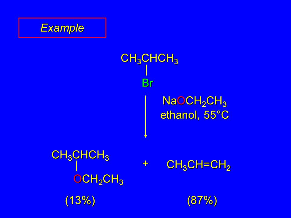 Question Which one of the following compounds gives the highest subtitution-to-elimination ratio (most substitution least elimination) on reaction with 2-bromobutane.