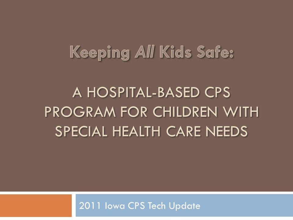 2011 Iowa CPS Tech Update
