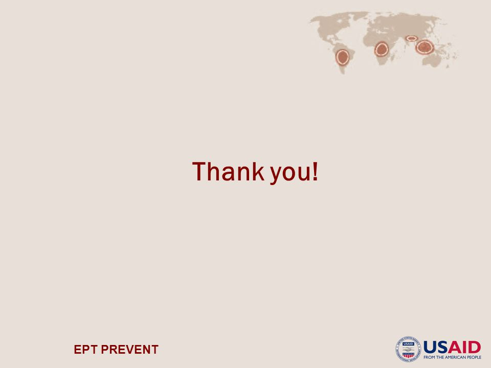 EPT PREVENT Thank you!