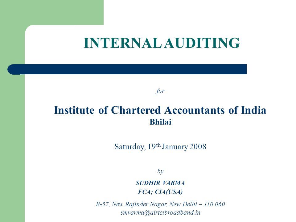 ICAI STANDARDS AAS – 8 Audit Planning (April 1, 1989) AAS – 9 Using the Work of an Expert (April 1, 1991) AAS – 10 Using the Work of Another Auditor (April 1, 2002) (Revised) AAS – 14 Analytical Procedures (April 1, 1998) AAS – 15 Audit Sampling (April 1, 1999) AAS – 17 Quality Control for Audit Work (April 1, 1999) AAS – 20 Knowledge of Business (April 1, 2000) AAS – 21 Consideration of Laws and Regulations in an Audit of Financial Statements (July 1, 2001)
