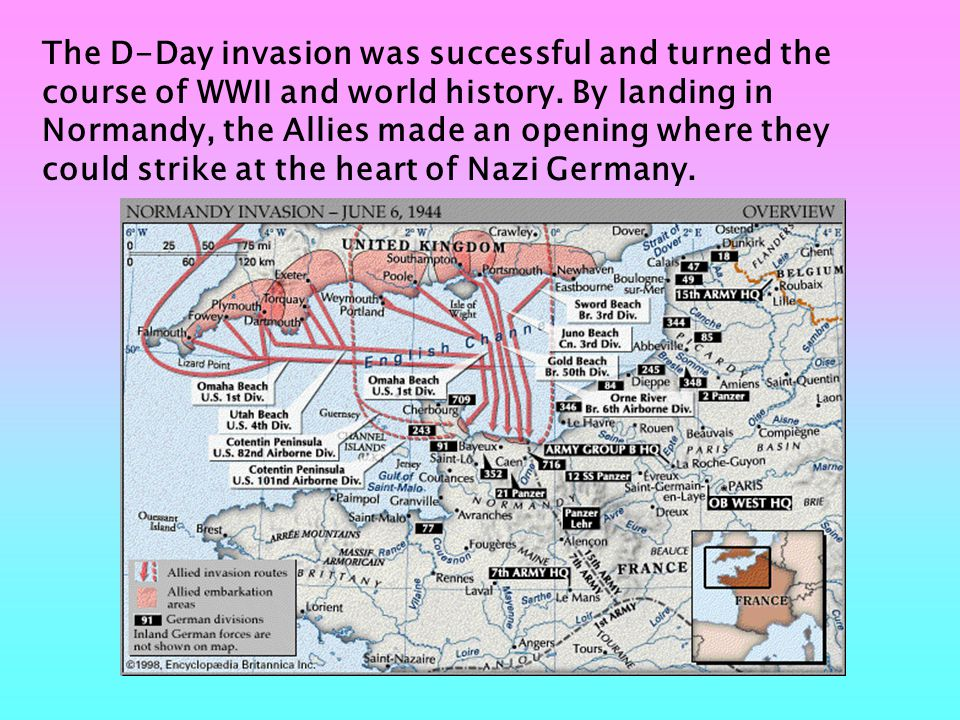Many movies were made and books written about D-Day, such as The Longest Day and Saving Private Ryan. D-Day in military terms, is simply the first day of a major operation.