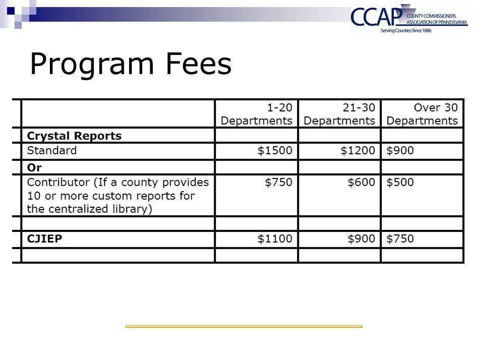 Program Fees