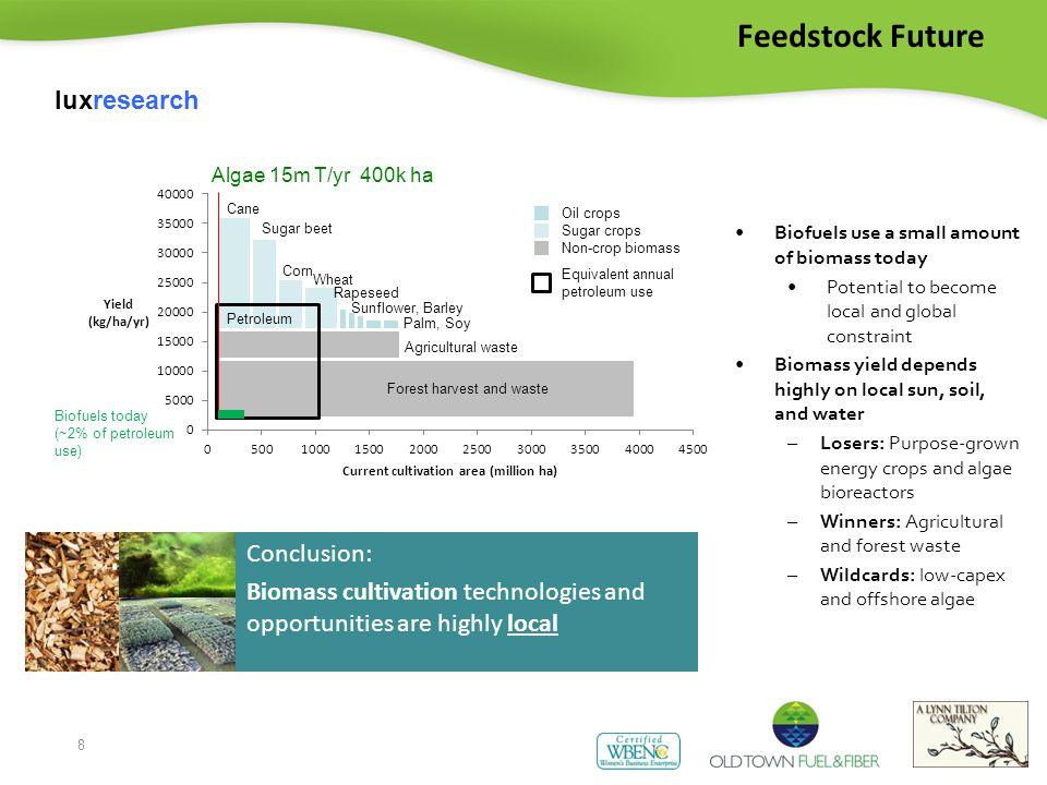 9 Feedstock Volatility