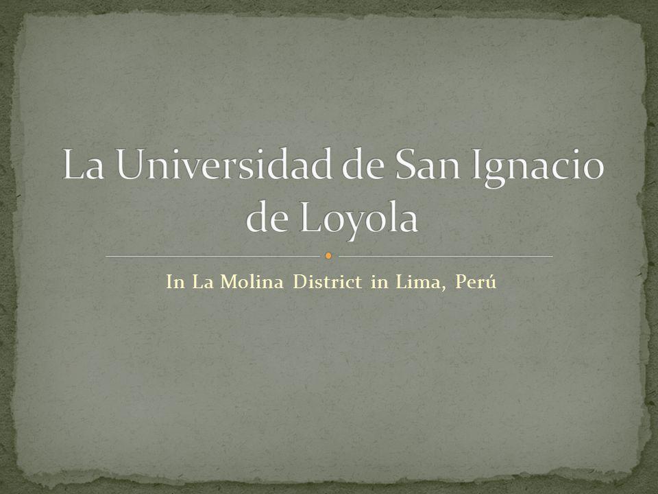 In La Molina District in Lima, Perú