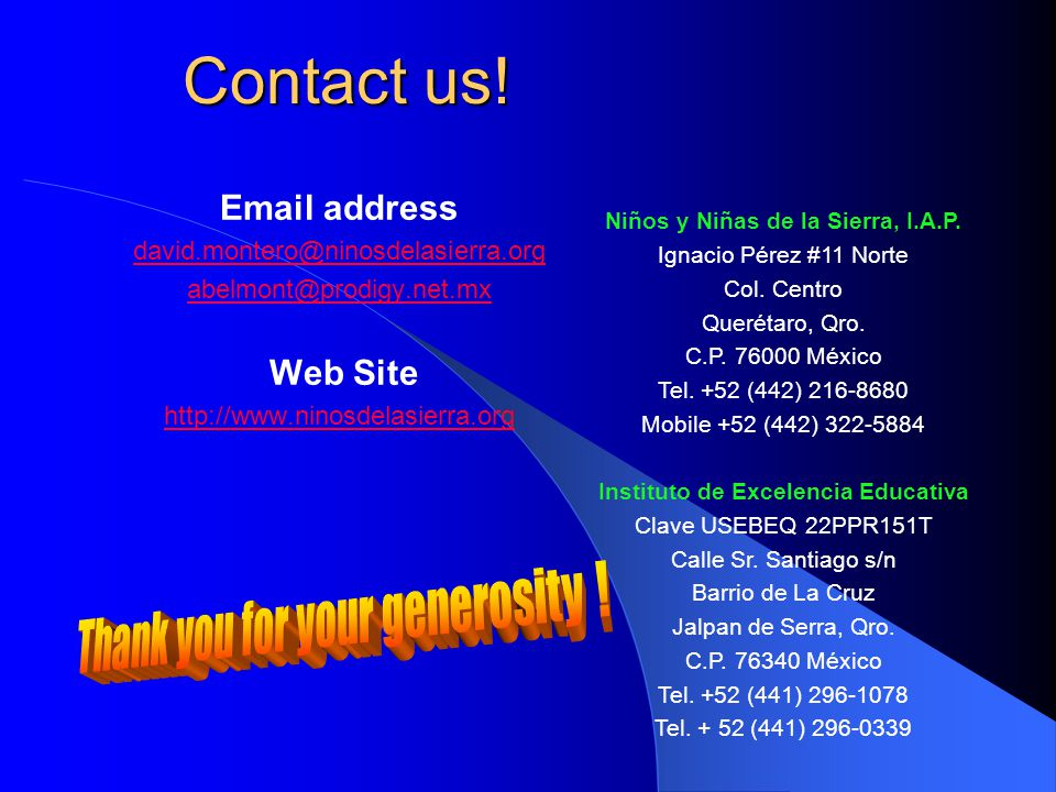 Contact us.Contact us.