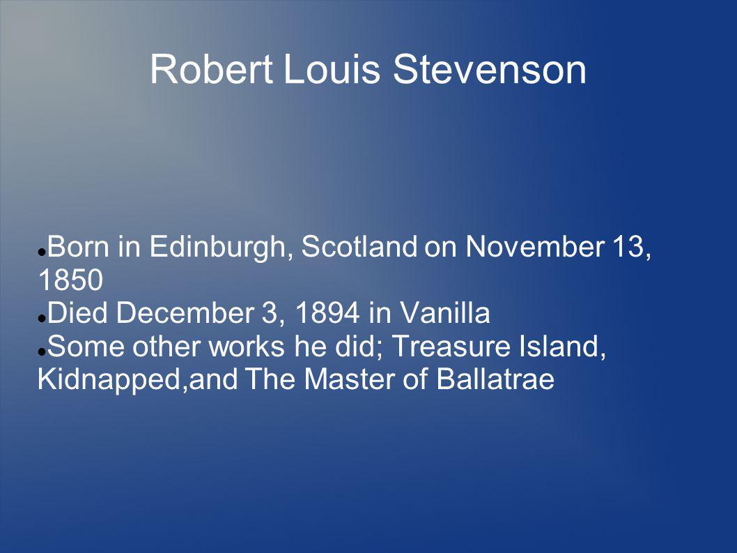 Reference Stevenson, Robert.The Strange Case of Dr.