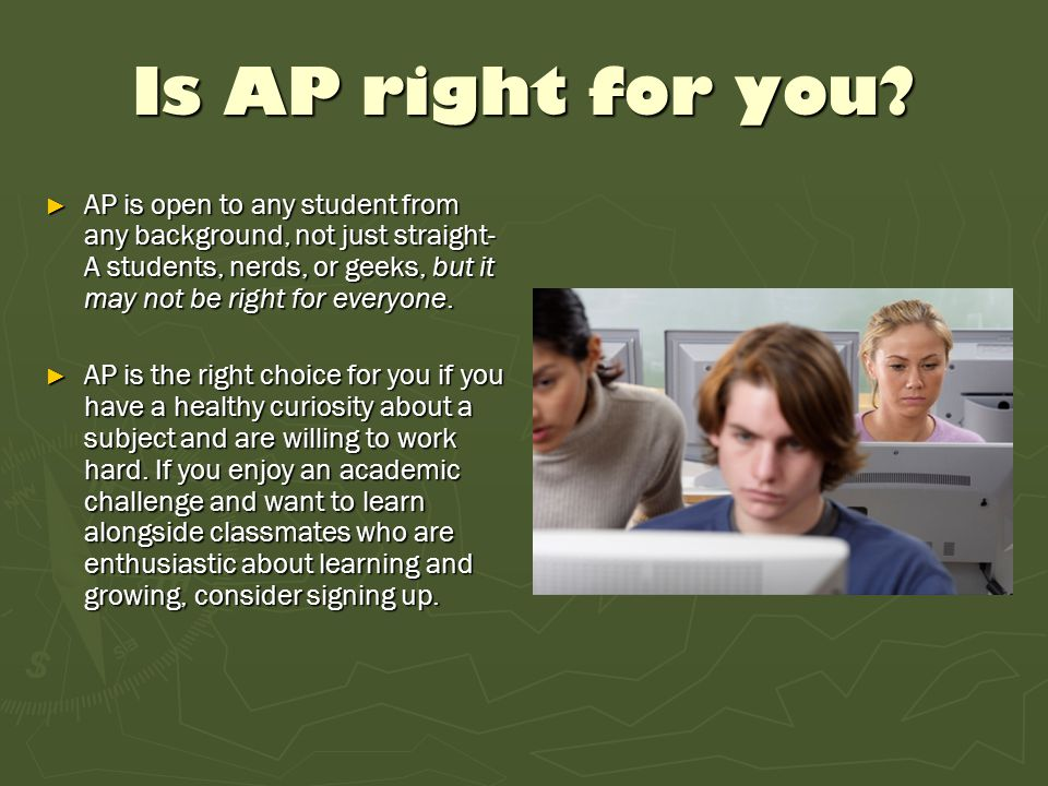 What is special about AP.