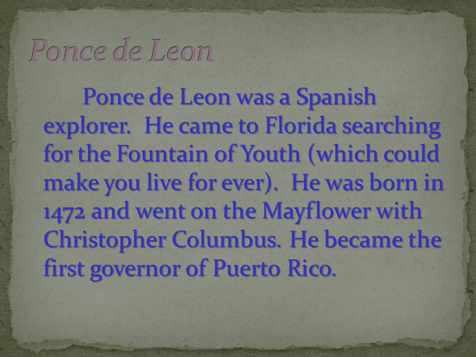 Florida s Discoverer