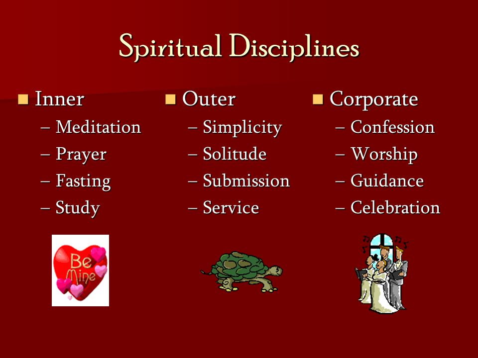 Is discipline a word that characterizes your Christian walk.