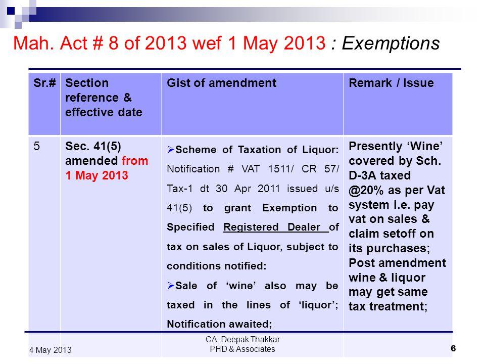 4 May 2013 27 Mahalaxmi Cotton Ginning Pressing & Oil Ind.