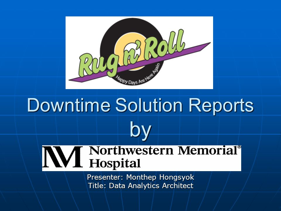 DOWNTIME Planned Downtime Planned Downtime Unplanned Downtime Challenges: 1) No preparation 2) Unknown root cause 3) Unpredictable timeline to restore the system Unplanned Downtime Challenges: 1) No preparation 2) Unknown root cause 3) Unpredictable timeline to restore the system