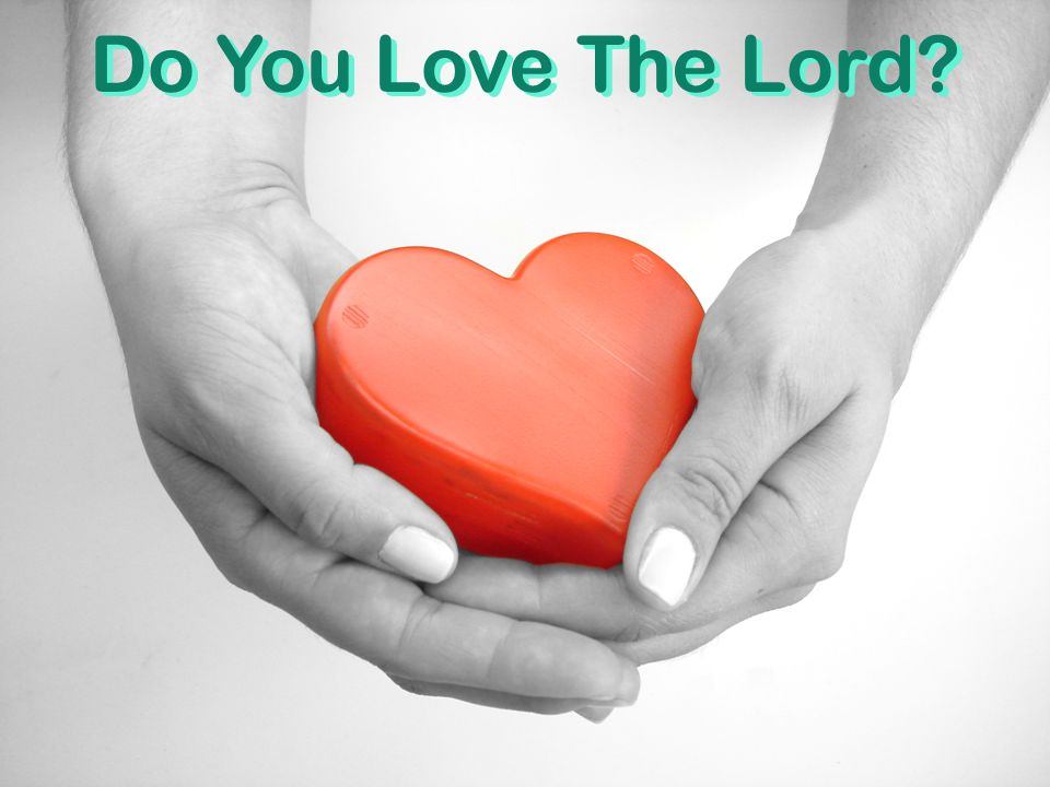Do You Love The Lord