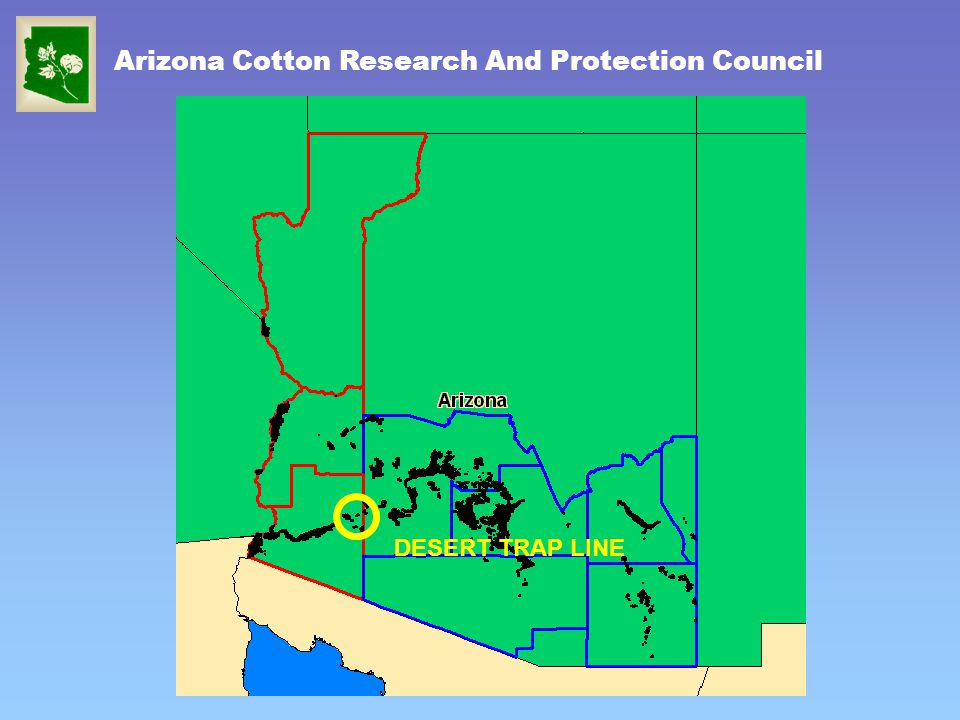Arizona Cotton Research And Protection Council DESERT TRAP LINE
