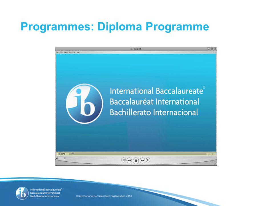 Programmes: Diploma Programme