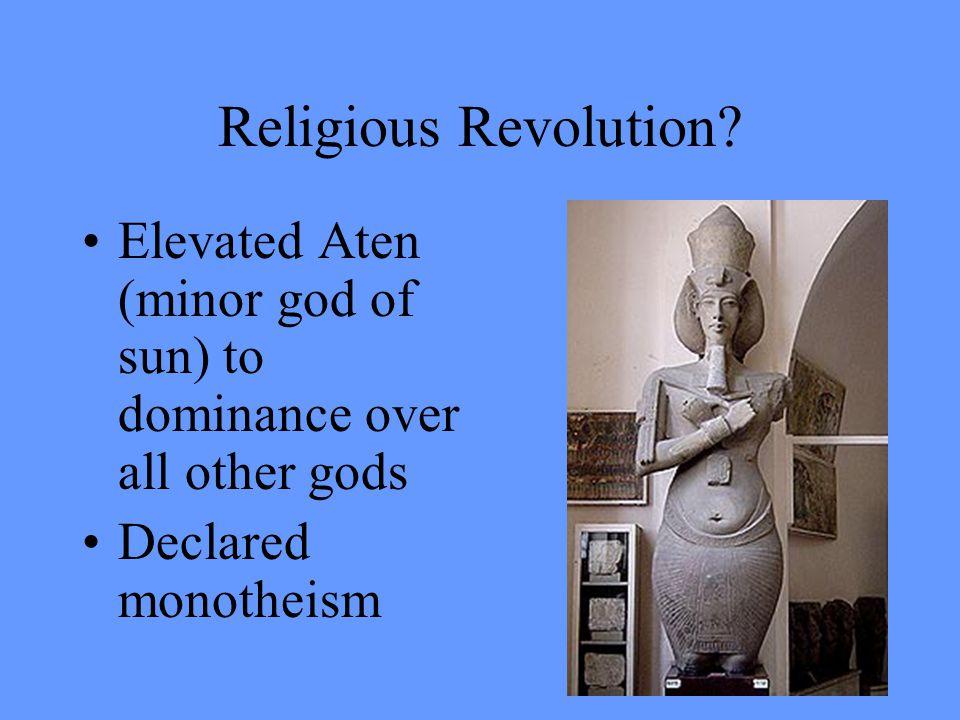 He's… different… isn't he. Akhenaten II (r.