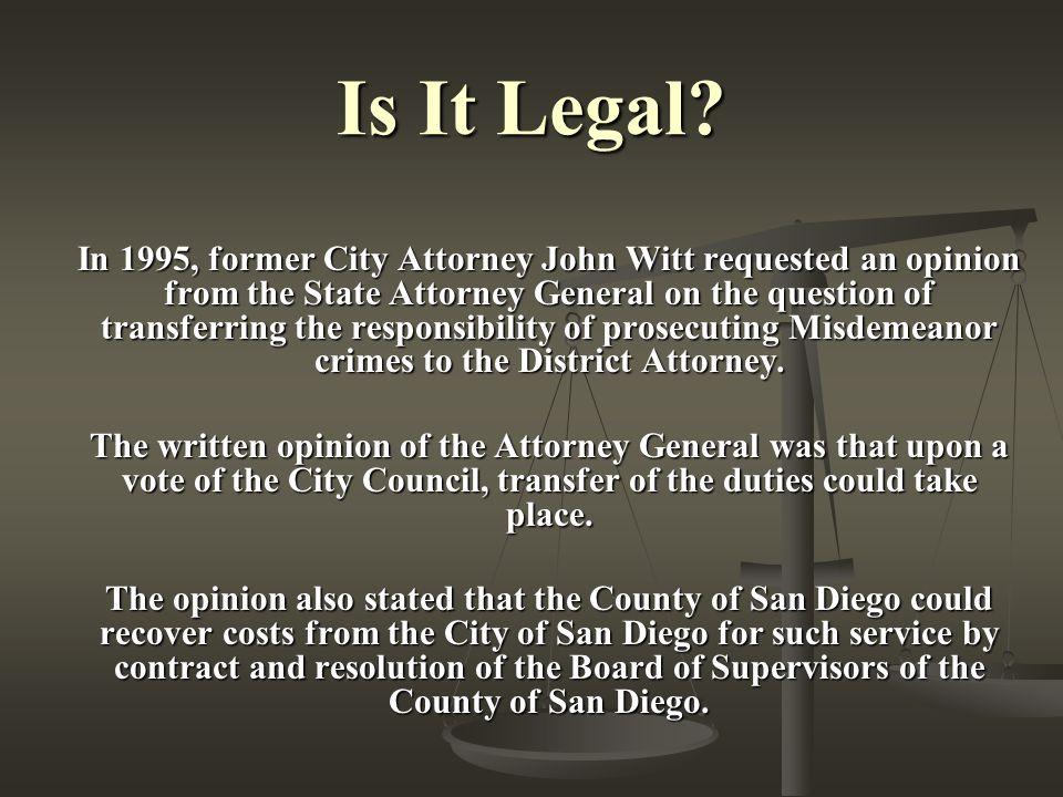 Is It Legal.