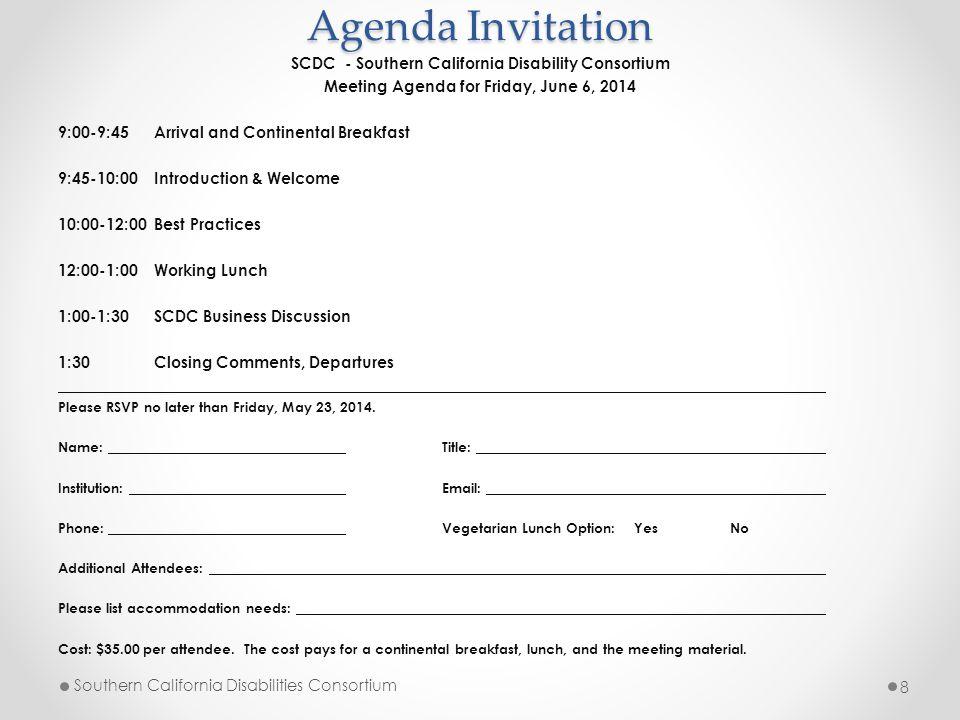 Accomplishments (A.H.) Hot topic conversations – 3 mtgs./yr.