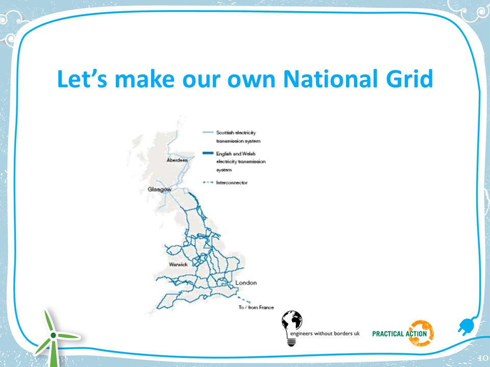 Let's make our own National Grid 10