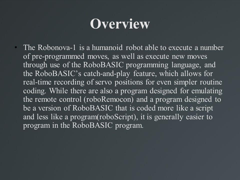 Snapshot of RoboScript Interface