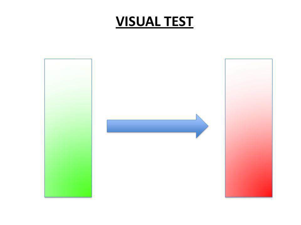 VISUAL TEST