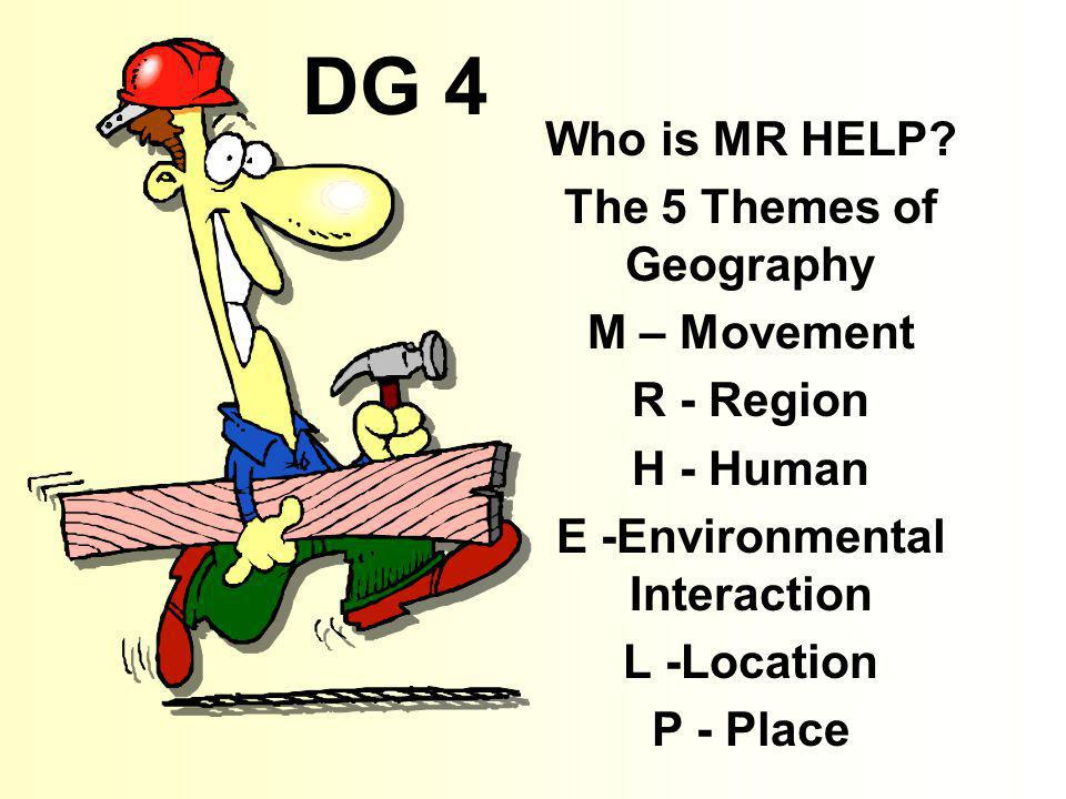 DG 5 1.Explain the difference between absolute and relative location.