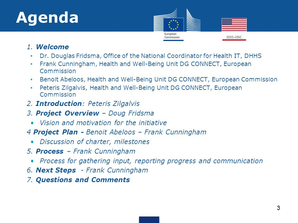 Project Overview EU-US eHealth Cooperation Initiative -Workforce Development A pool of highly proficient eHealth/health IT professionals is needed.